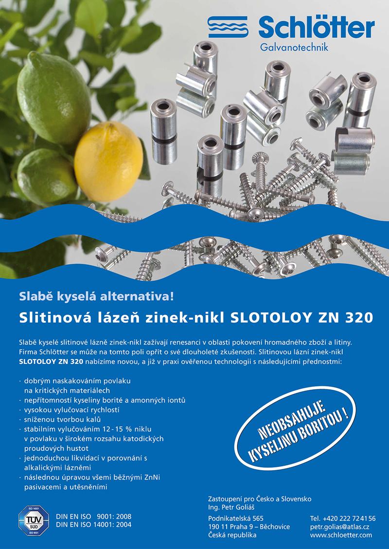 Slotoloy Zn320